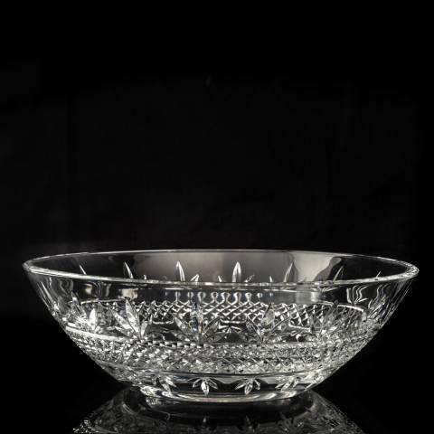 Royal Worcester Lead Crystal Malvern Bowl, 27cm