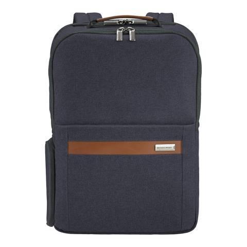 Briggs & Riley Navy Medium Backpack