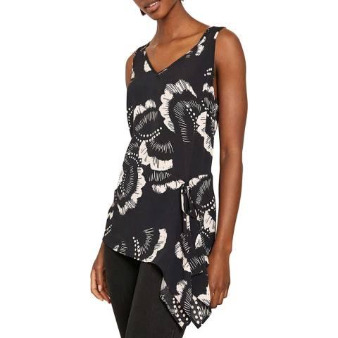 Mint Velvet Grace Print Tie Front Cami