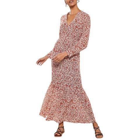 Mint Velvet Molly Print Boho Maxi Dress