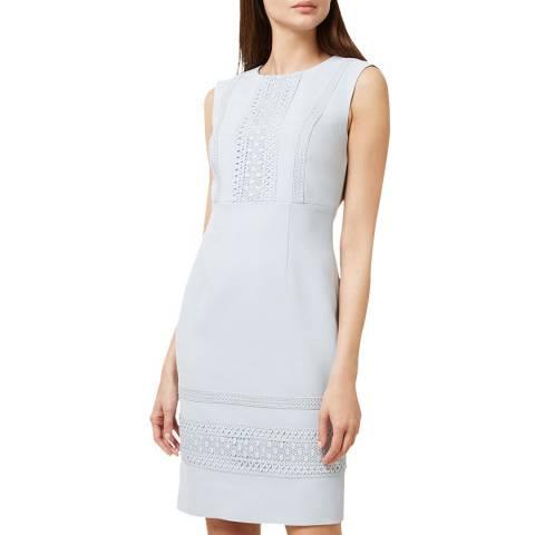 Hobbs London Blue Evadine Dress