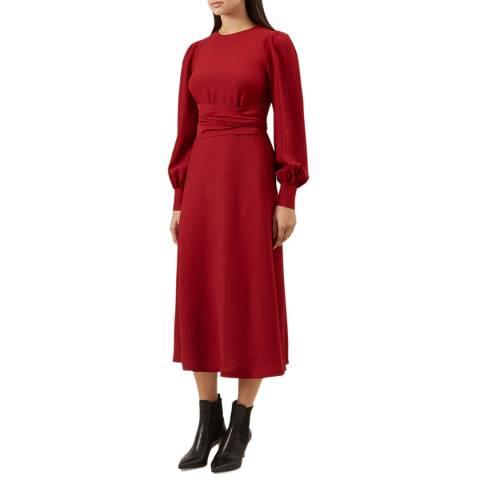 Hobbs London Red Ruby Dress