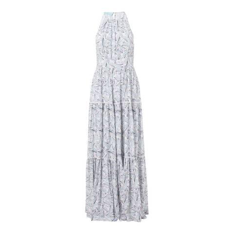 Melissa Odabash Isadora Azari High Neck Maxi Dress