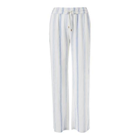 Melissa Odabash Blue Stripe Krissy Trousers