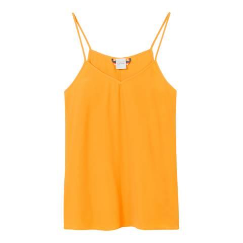 PAUL SMITH Orange A Line Silk Blend Cami Top