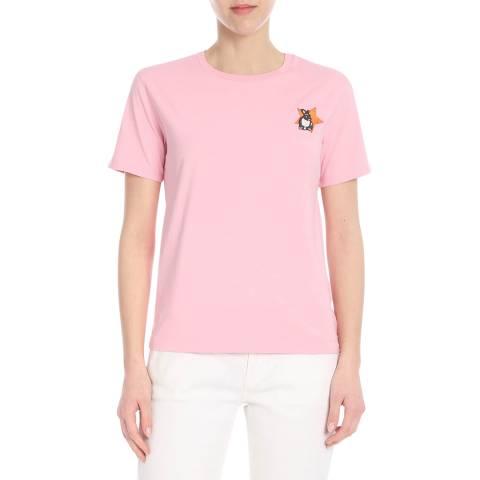 PAUL SMITH Pink Lucky Star Cotton T-Shirt