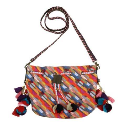 N°· Eleven Multi Geometric Print Tote Bag