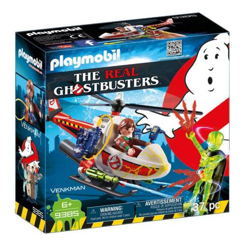 Playmobil Venkman with Helicopter