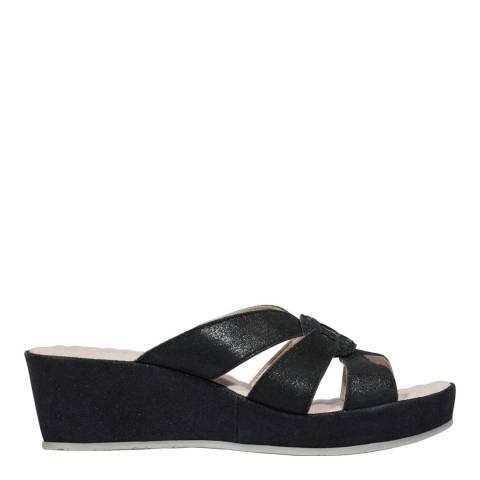 Scholl Black Damiana Open Toe Sandals