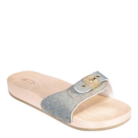 Scholl Silver Pescura Sandals