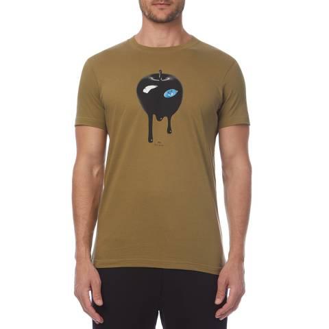 PAUL SMITH Camel Apple Slim T-Shirt