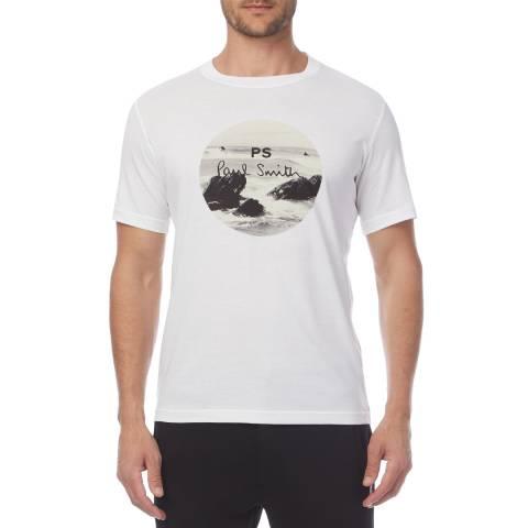 PAUL SMITH White Surf Regular T-Shirt
