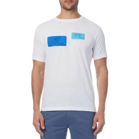 PAUL SMITH White Harold Regular T-Shirt