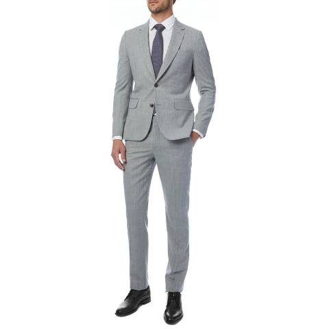 PAUL SMITH Light Grey Tailored Fit Suit