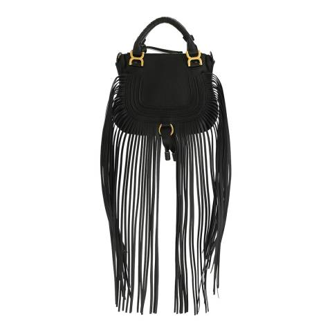 Chloe Black Mini Marcie Handbag