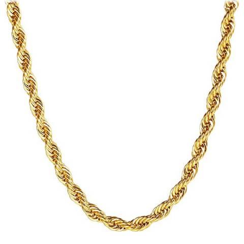 Stephen Oliver Gold Twist Necklace