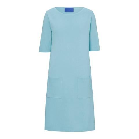 Winser London Aqua Milano Cotton Midi Dress