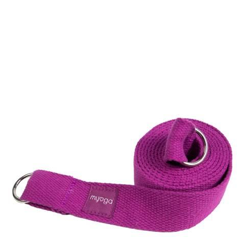 Myga 2 in 1 Plum Yoga Belt & Sling