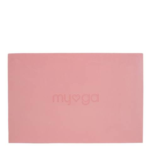 Myga Yoga Block Large Pink