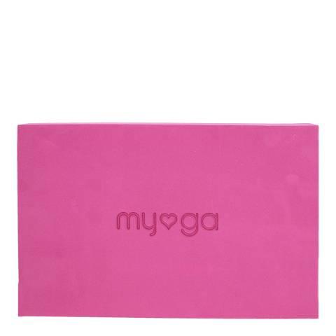 Myga Yoga Block Large Plum