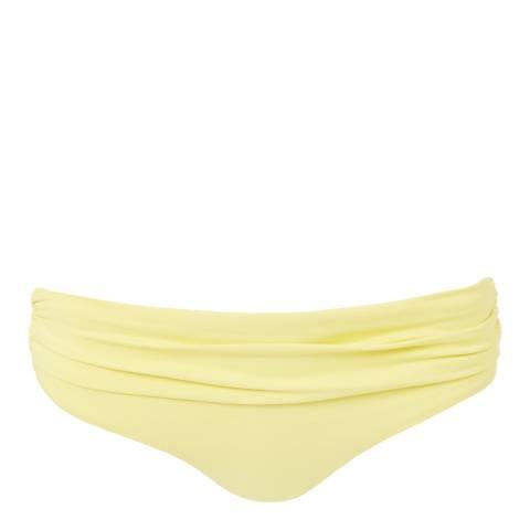 Melissa Odabash Yellow Bel Air Bottom