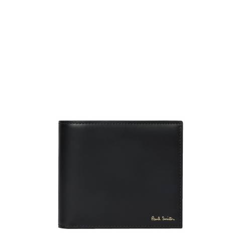 PAUL SMITH Black Camera Print Bifold Wallet