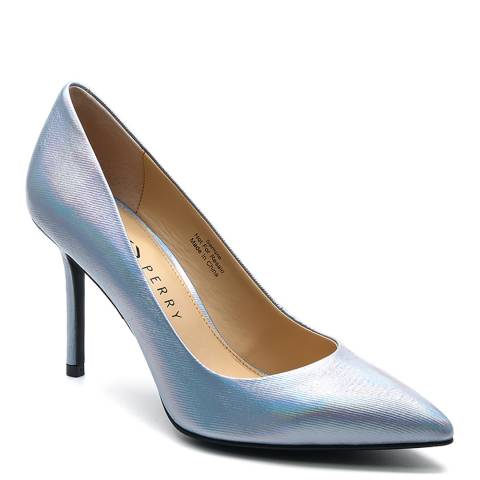 Katy Perry Silver The Sissy Heeled Pumps