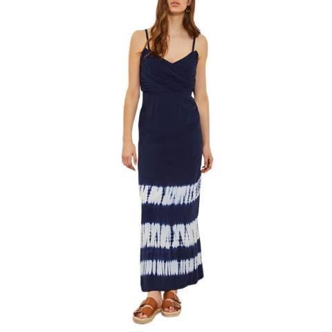 Mint Velvet Della Print Tie Dye Maxi Dress