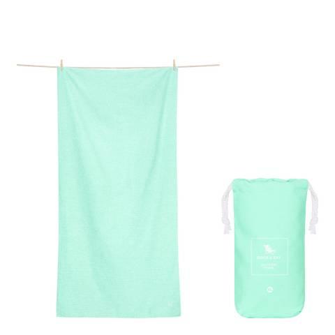 Dock & Bay Active XL Towel, Rainforest Green