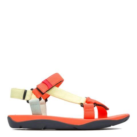 Camper Orange Multi Assorted Match Sandals
