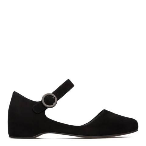 Camper Black Serena Semi Open Shoes