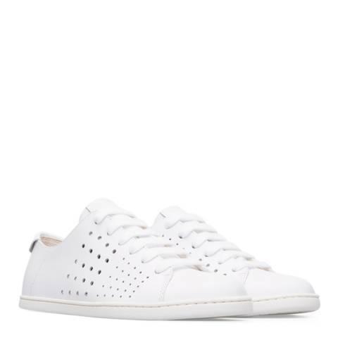Camper White Natural TWS Tennis Sneakers