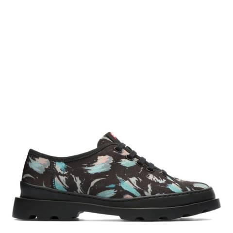 Camper Black Multi Assorted Brutus Sneaker Style Shoe
