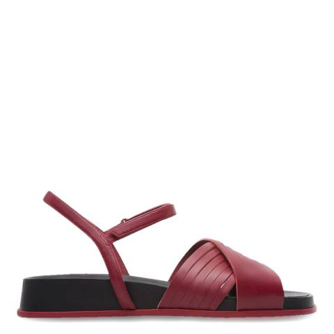 Camper Red Atonika Open Toe Strappy Sandals