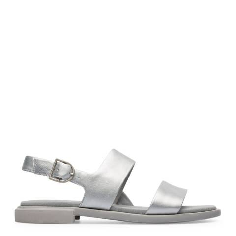Camper Silver Edy Sandals