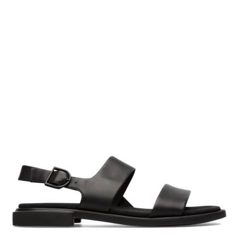 Camper Black Edy Sandals