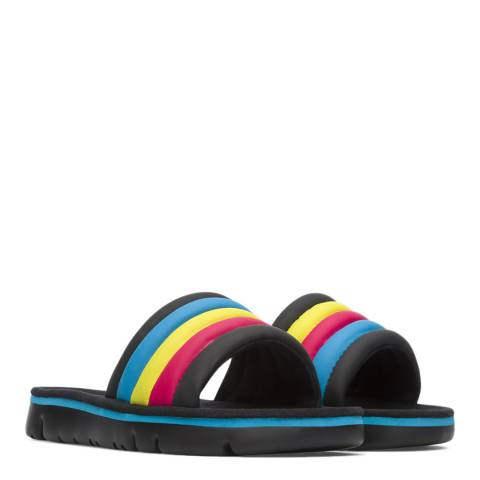 Camper Black & Multi TWS Sandals