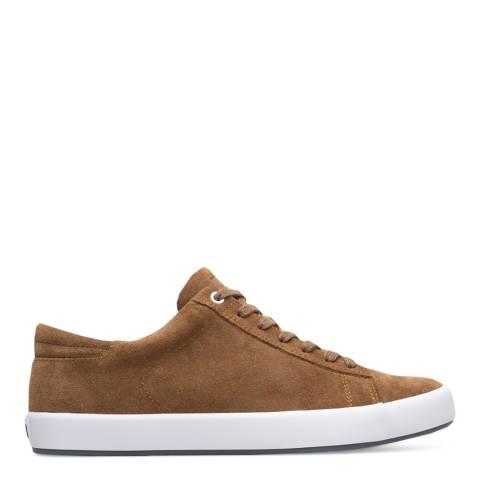 Camper Brown Suede Andratx Sneakers