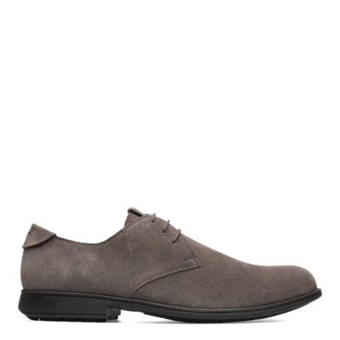 Camper Brown Suede Mil 1913 Formal Shoes