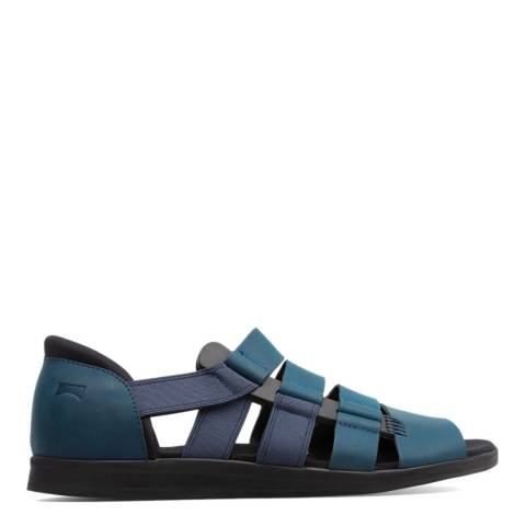 Camper Dark Blue Spray Sandals