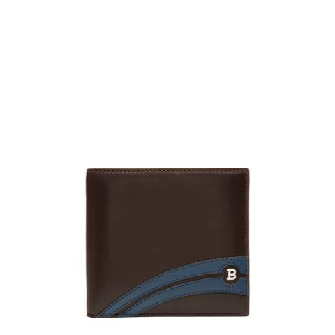 BALLY Chocolate Supersmash Wallet