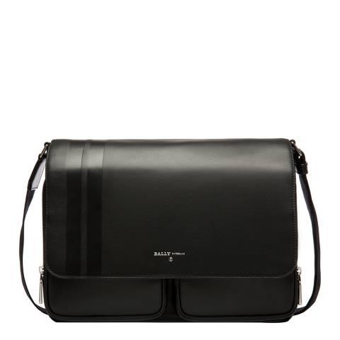 BALLY Black District Messenger Bag