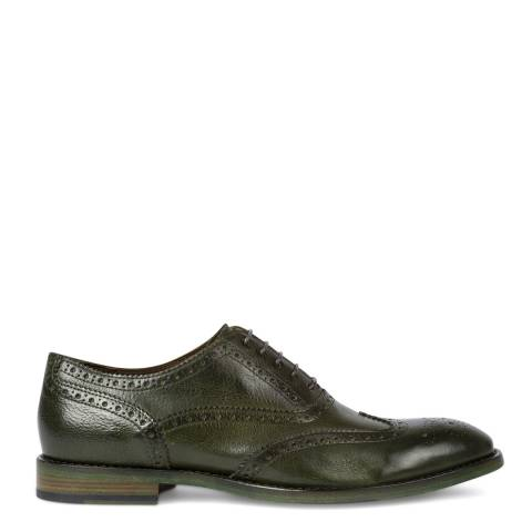 PAUL SMITH Bottle Green Munro Leather Brogue Shoe