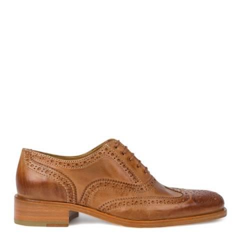 PAUL SMITH Tan Arlo Brogue Shoe