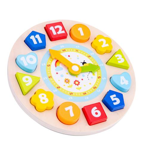 New Classic Toys Puzzle Clock
