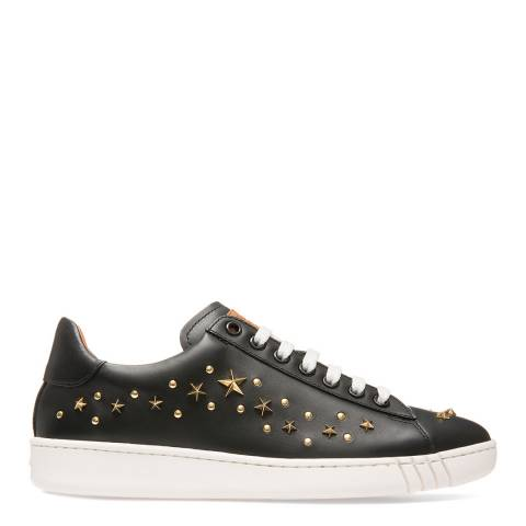 BALLY Black Leather Wiera Trainers