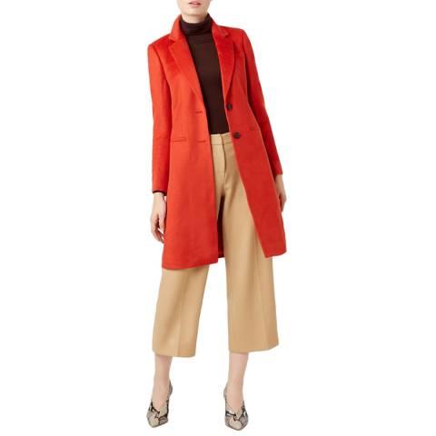 Hobbs London Orange Tilda Coat