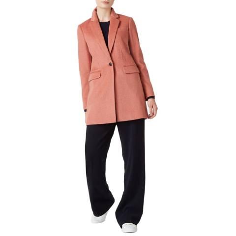 Hobbs London Pink Tia Coat