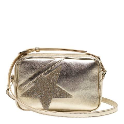 Golden Goose Gold Star Leather Crossbody Bag