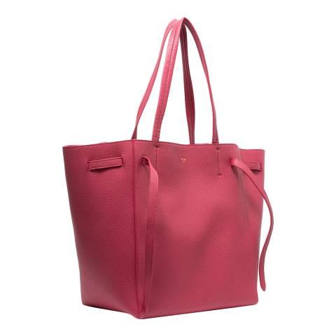 Celine Raspberry Leather Shoulder Bag